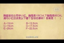 【爱讯分享】趣味小知识:中国女人Cup报告
